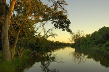 Makgalakwena River at sunrise