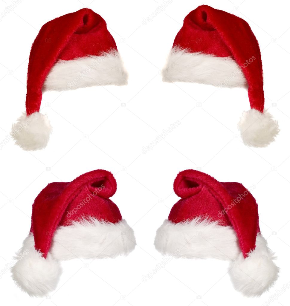 Red christmas cap
