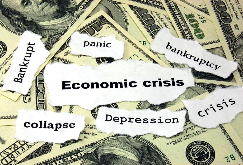 Resultado de imagen de palabras de crisis economica