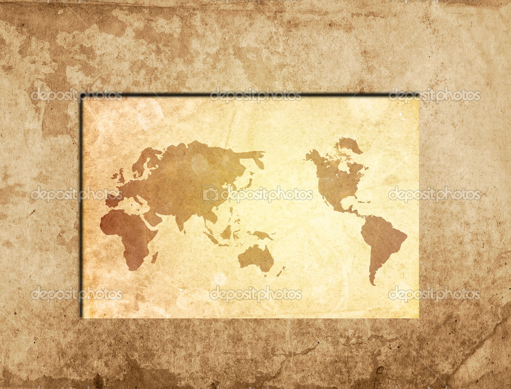 World map vintage artwork stock photo ilolab 2976597 world map vintage artwork perfect background with space for text or image photo by ilolab gumiabroncs Gallery