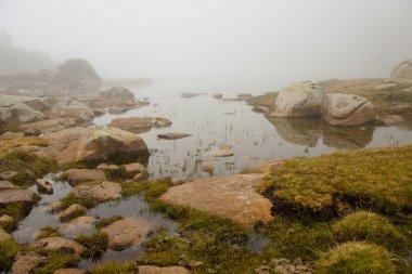 Foggy day in Andorra