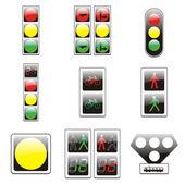 Fotografie isolierten Europäischen Verkehrszeichen