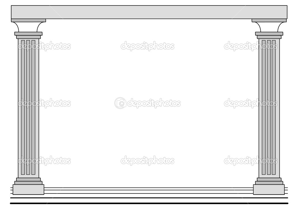 Background greece temple stock vector photovectorino 3542297 background with a border in the shape of a greece temple vector by photovectorino thecheapjerseys Images