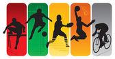 Fotografie sportovní siluety