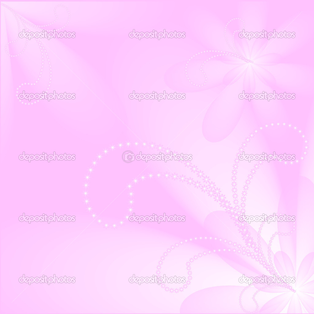light pink floral background - photo #33