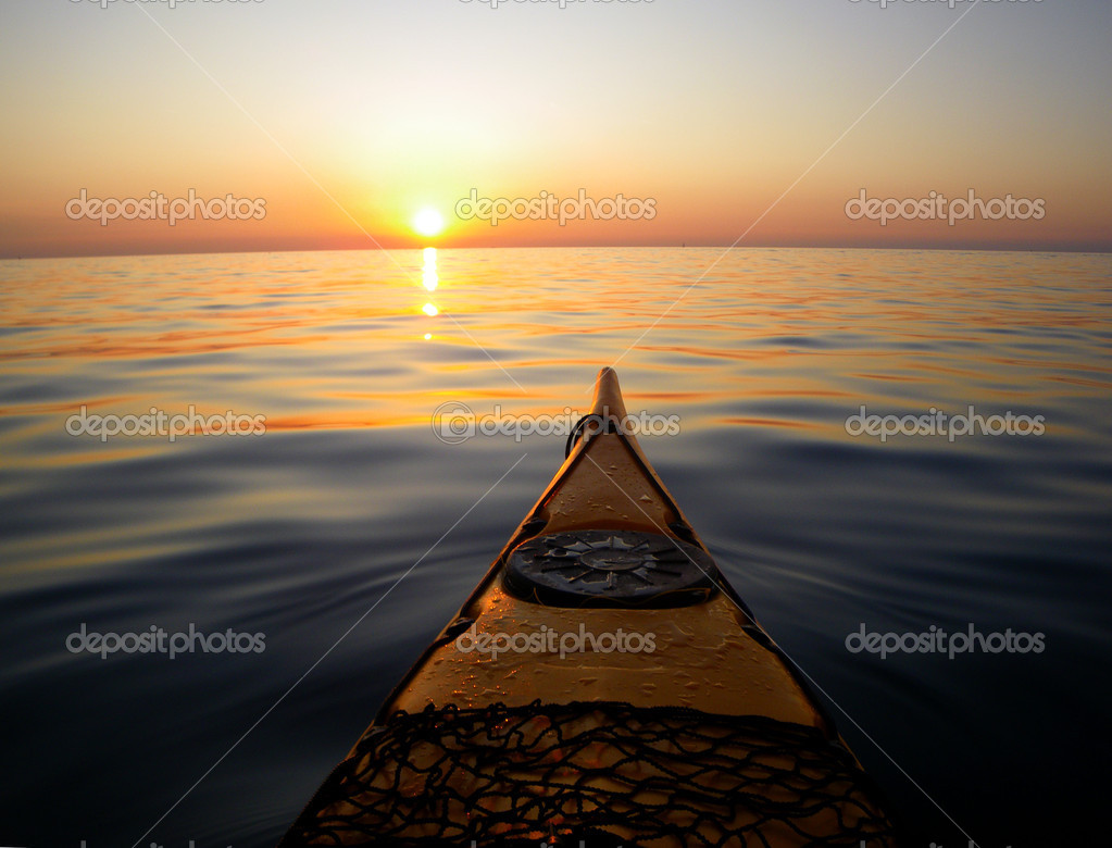 Фотообои Sea kayak