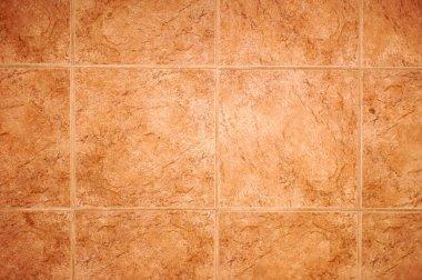 Detail of tile floor