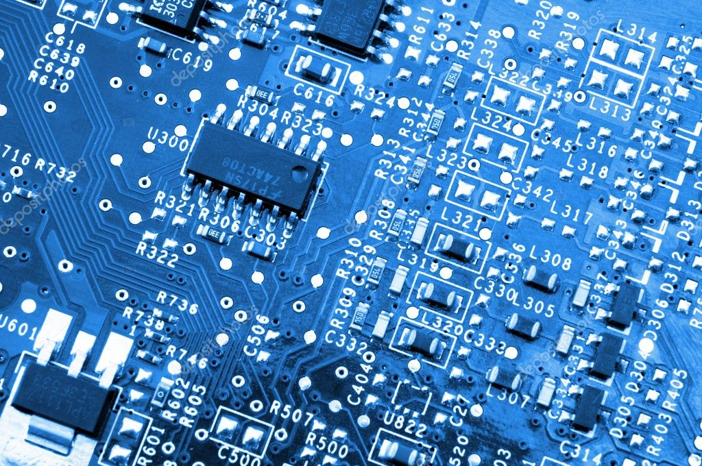 Computer hardware electronics — Stock Photo © gunnar3000 #4028725