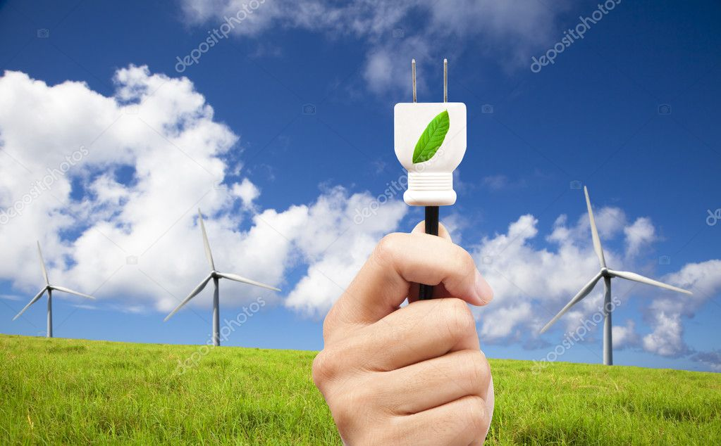 Hand hold eco power plug