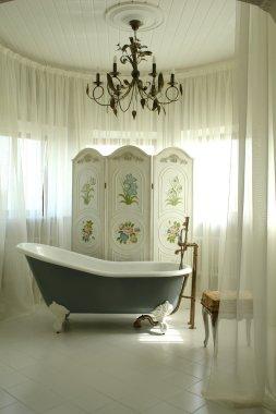 A part of interior of bathroom