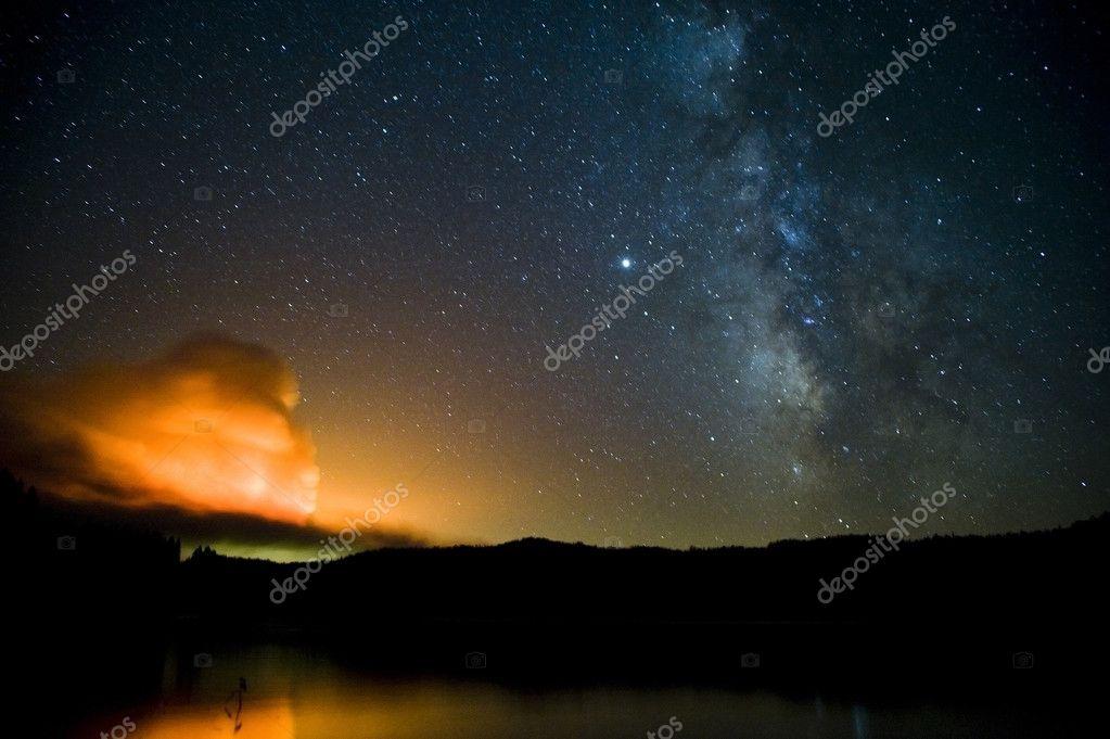 Part of Milky way