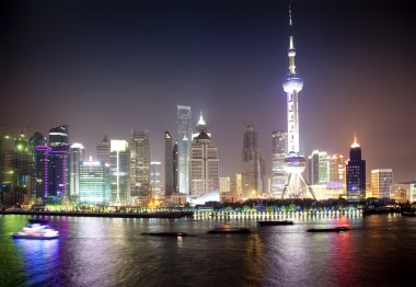 Night view of Shanghai, China