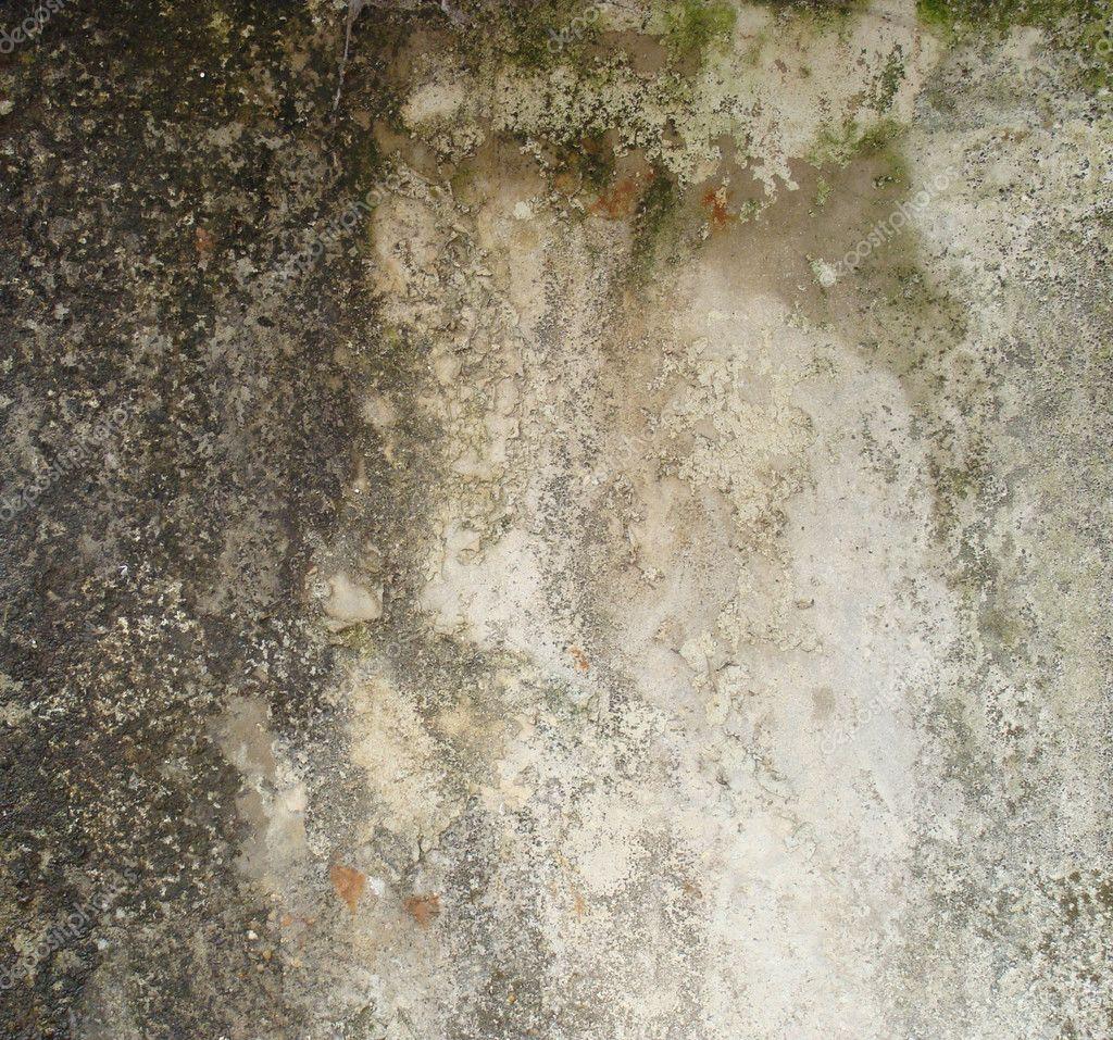 Getragen Schmutzig Gelb Grau Weiß Braun Wand Mit Sporen Schimmel Und Bla U2014  Stockfoto #3484920