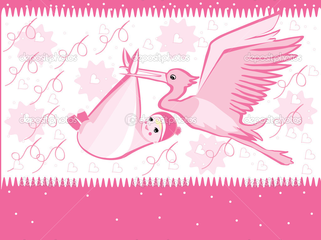 Клипарт открытки с новорожденными