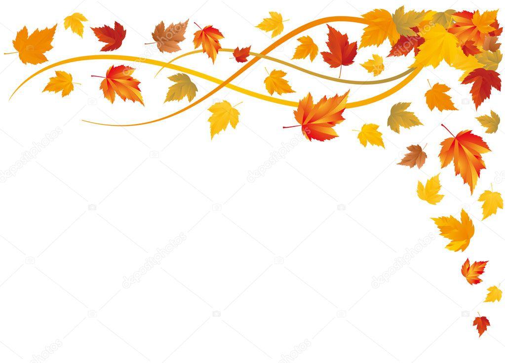 Autumn background, vector