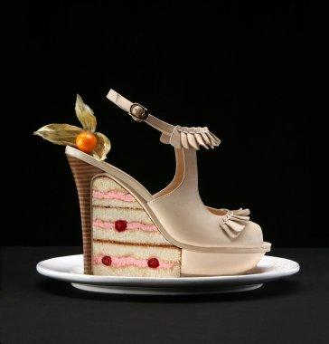 Female fashion shoe