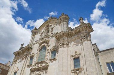 St. Francesco d'Assisi Church. Matera. Basilicata.
