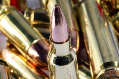 Various bullets / artillery stock vector