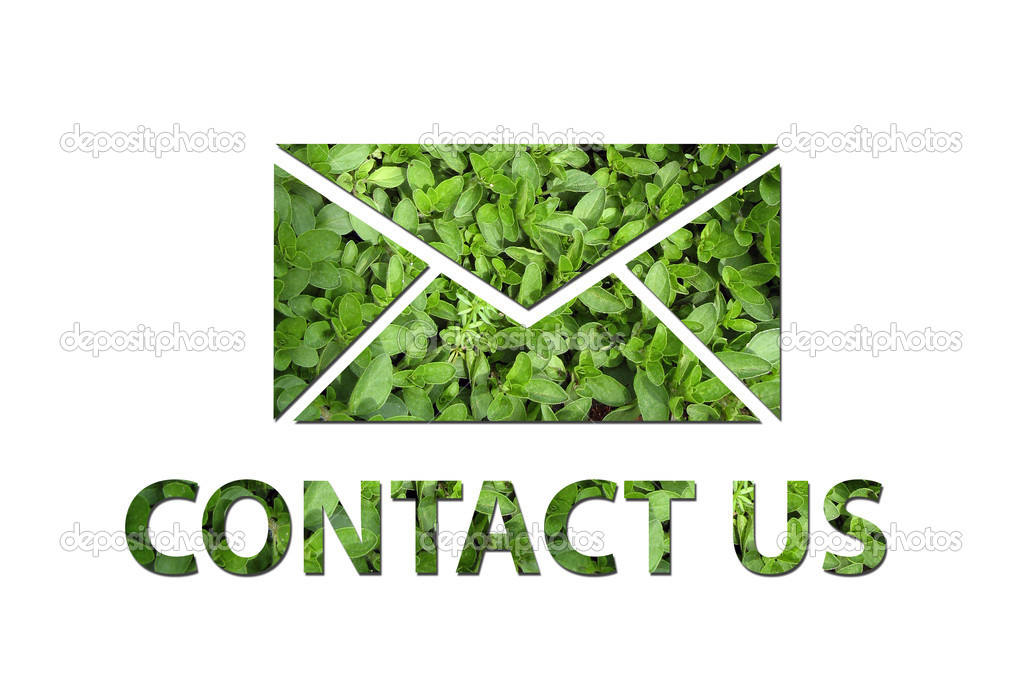 Ecological contact us symbol