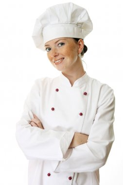 Attractive cook woman