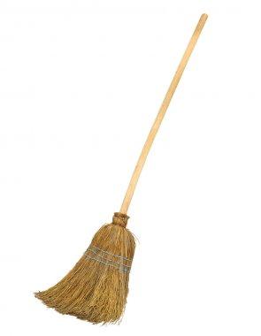 Straw broomstick