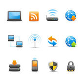 Sada profesionálních ikon / připojení