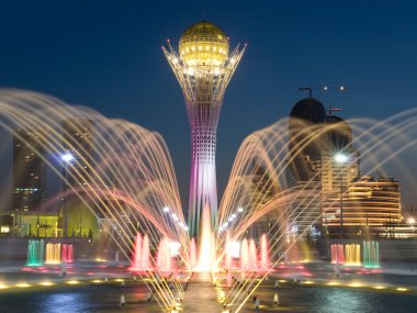 Central square of Astana