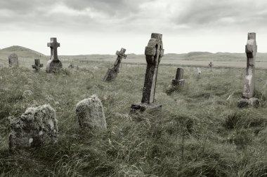 Eerie gravesite