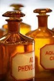 Fotografie Vintage pharmacy bottles