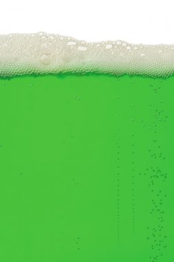 Green beer background