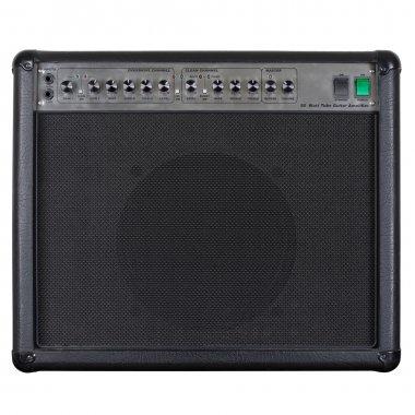 Guitar amplifier black