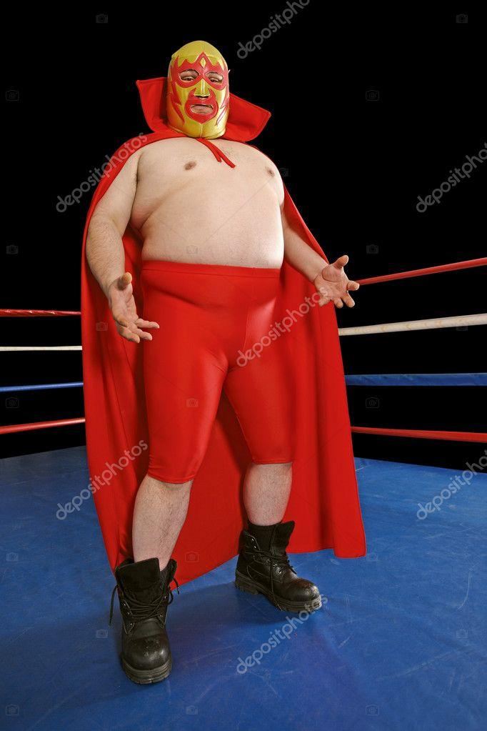 Animato cartone wrestling messicano wrestler messicano u foto
