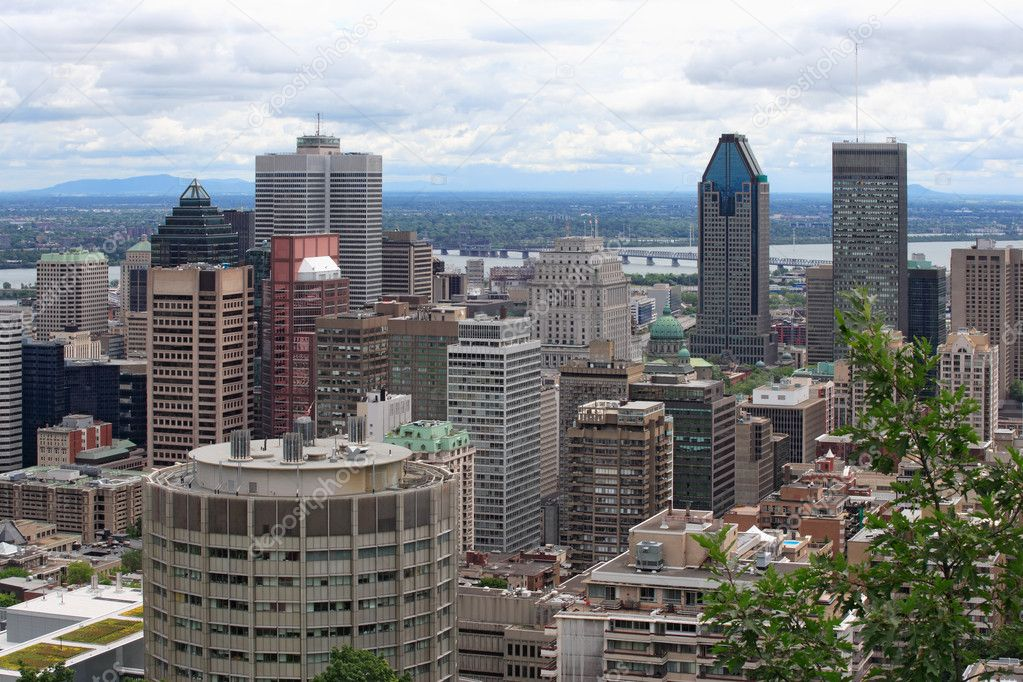 Cityscape of Montreal