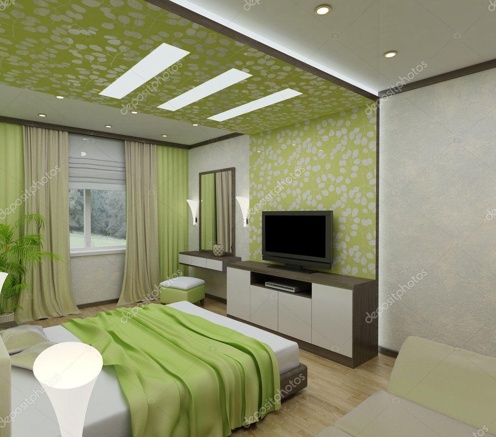 Habitaciones interiores 3d foto de stock pendra 3016671 for Simulador de habitaciones 3d online