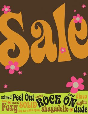 70s Style Sales Flyer/Poster
