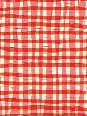 8.5x11 Brush Stroke Gigham Background