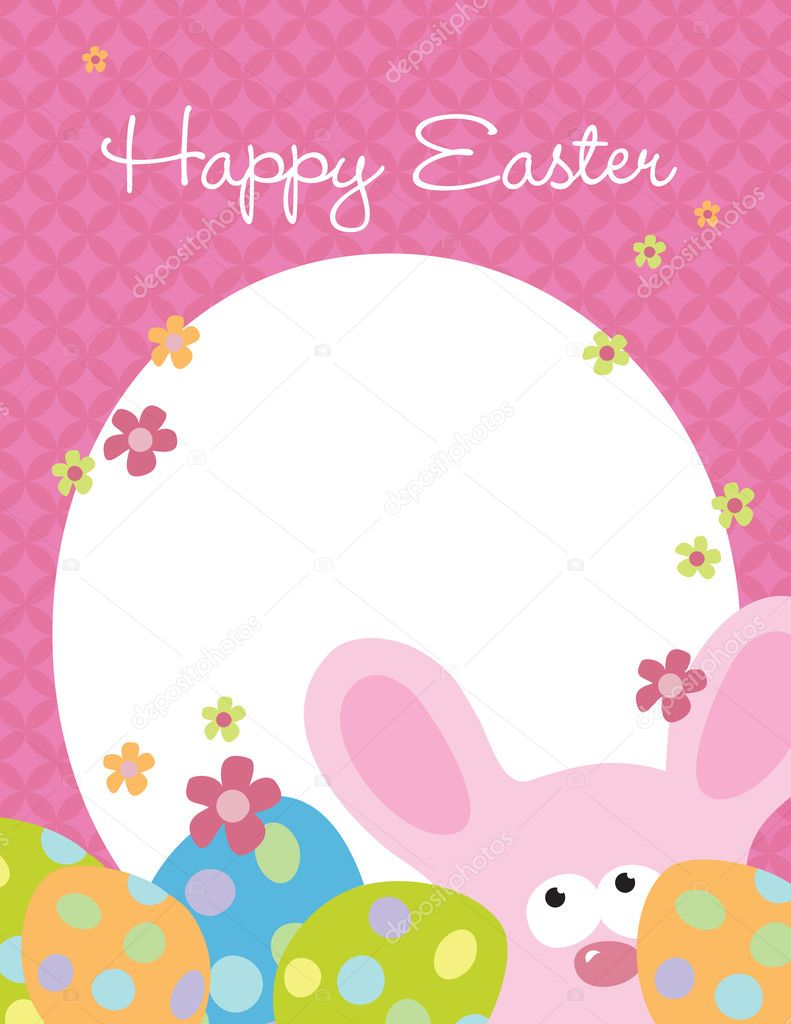 Easter Flyer Template Vector wetnose 3098812 – Easter Flyer Template