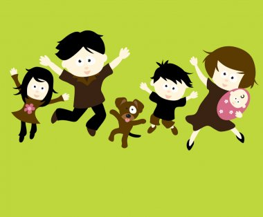 Family Jumping 1