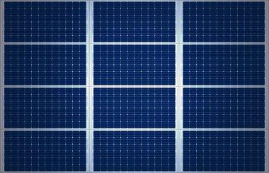 Big Solar Panel Background XXL stock vector