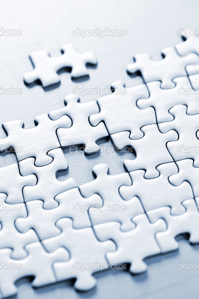 Missing puzzle piece — Stock Photo © elenathewise #4467181