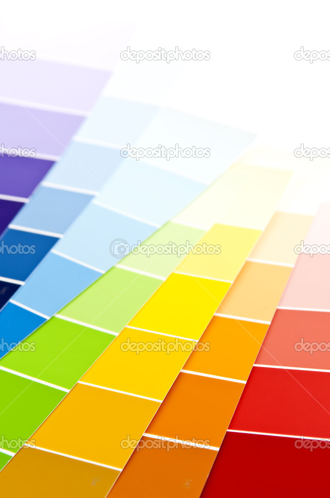 Paint Sample color card paint samples — stock photo © elenathewise #4494385
