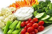 zelenina a dip