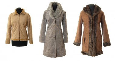 Female fur coats collection # 1 | Isolated
