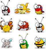 Fotografia cartone animato insetti