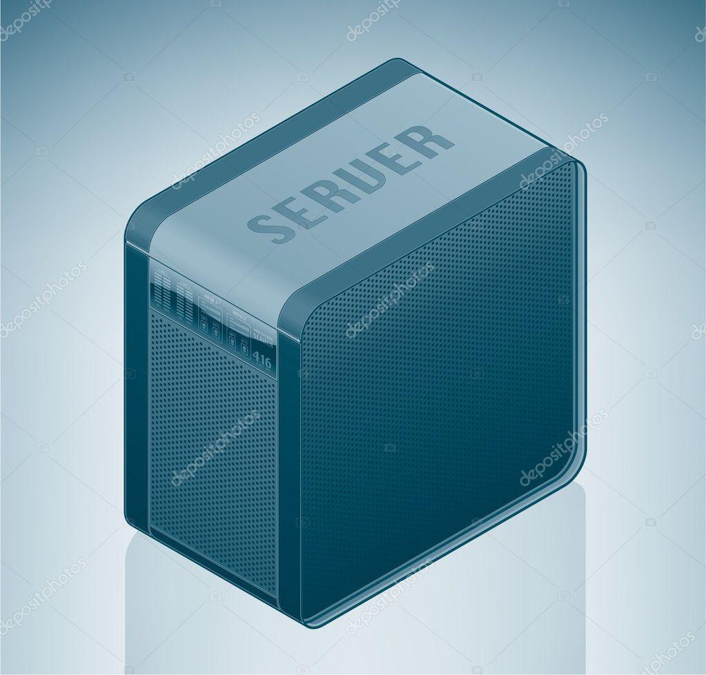 Internet Server Unit  U2014 Stock Vector  U00a9 Vectorminator  3168453