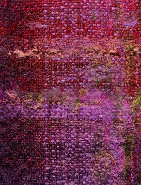 Hand woven fabric