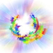 abstraktní barevné zpět