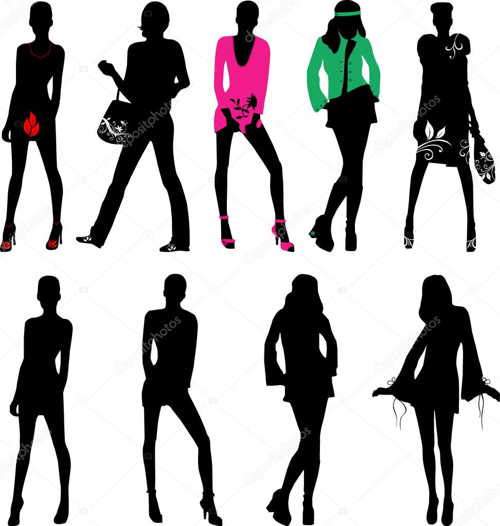 fashion silhouette description - 972×1023