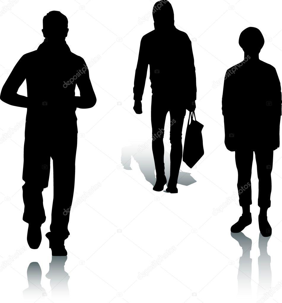 bf2b4d839eb Depositphotos stock illustration silhouette fashion men jpg 951x1023 Man  silhouette fashion