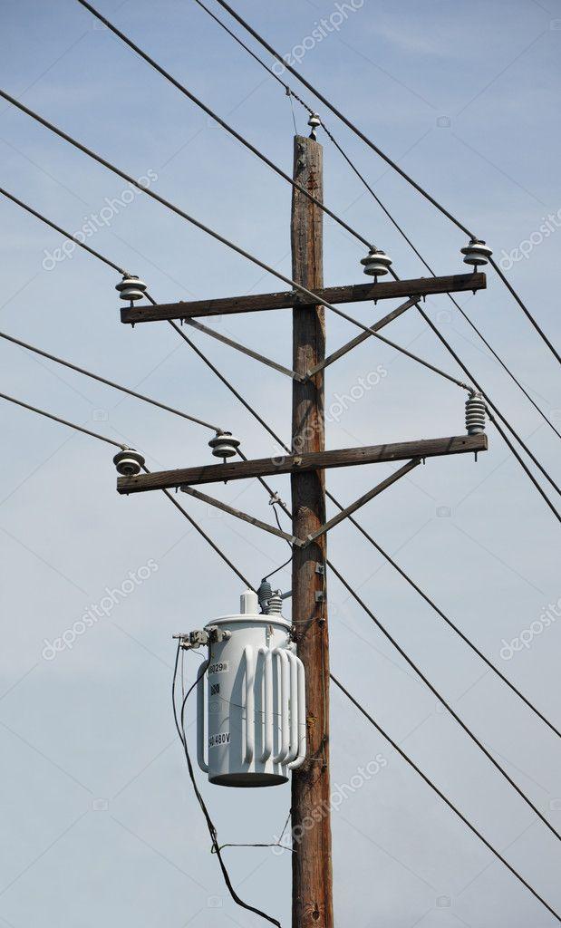 Telefonmast — Stockfoto © Blufishdesign #3829369